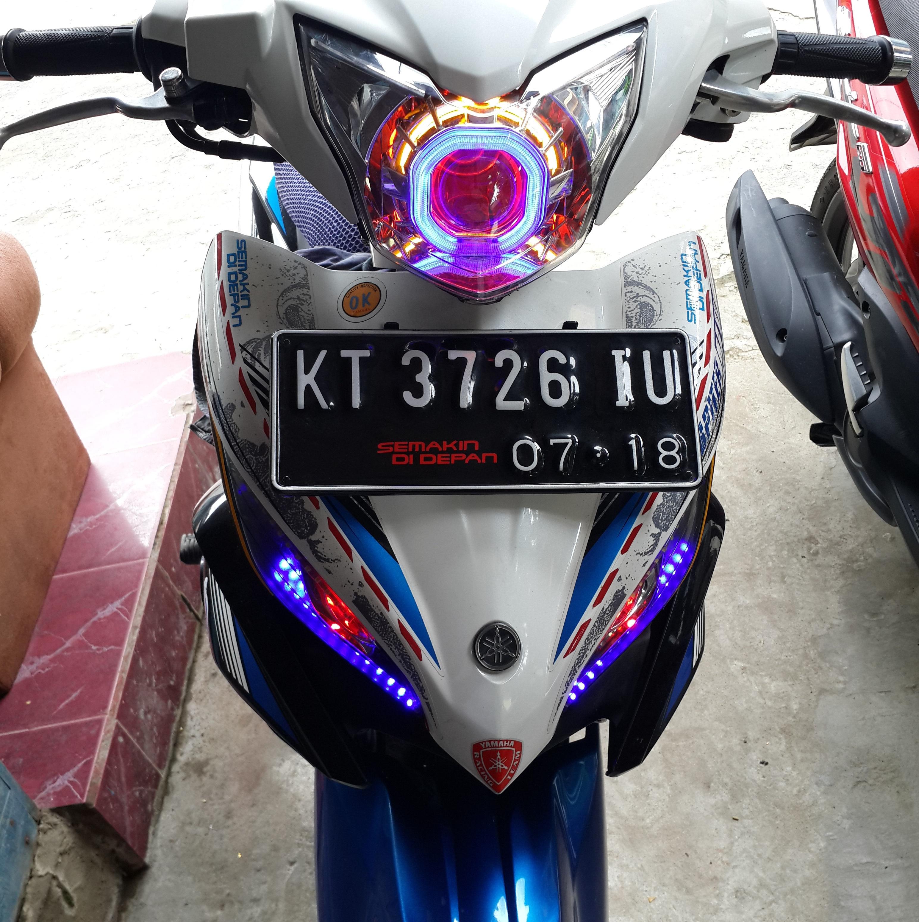 Yamaha Jupiter MX 135 Pakai HID Projector MH1AES G1S Yamaha